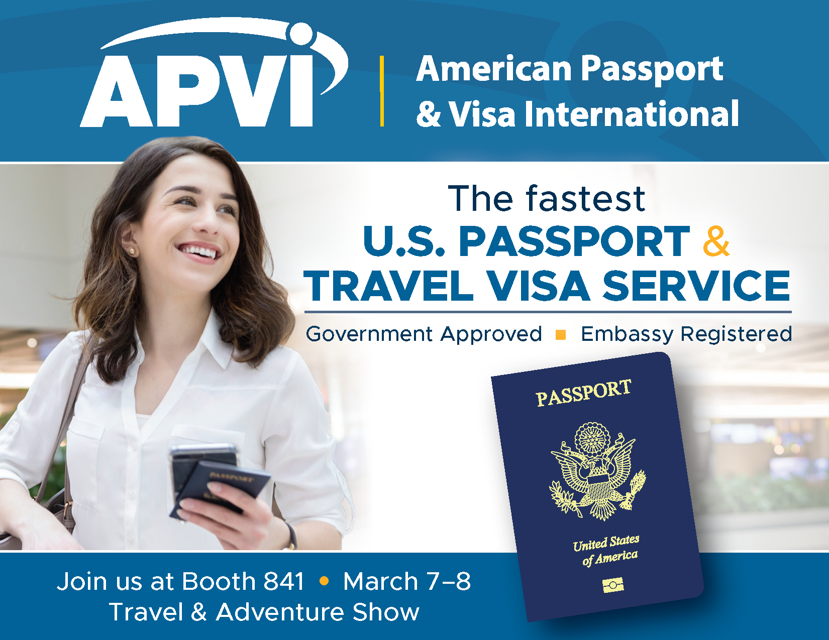 Join APVI at the Travel & Adventure Show in Washington, DC March 7-8!