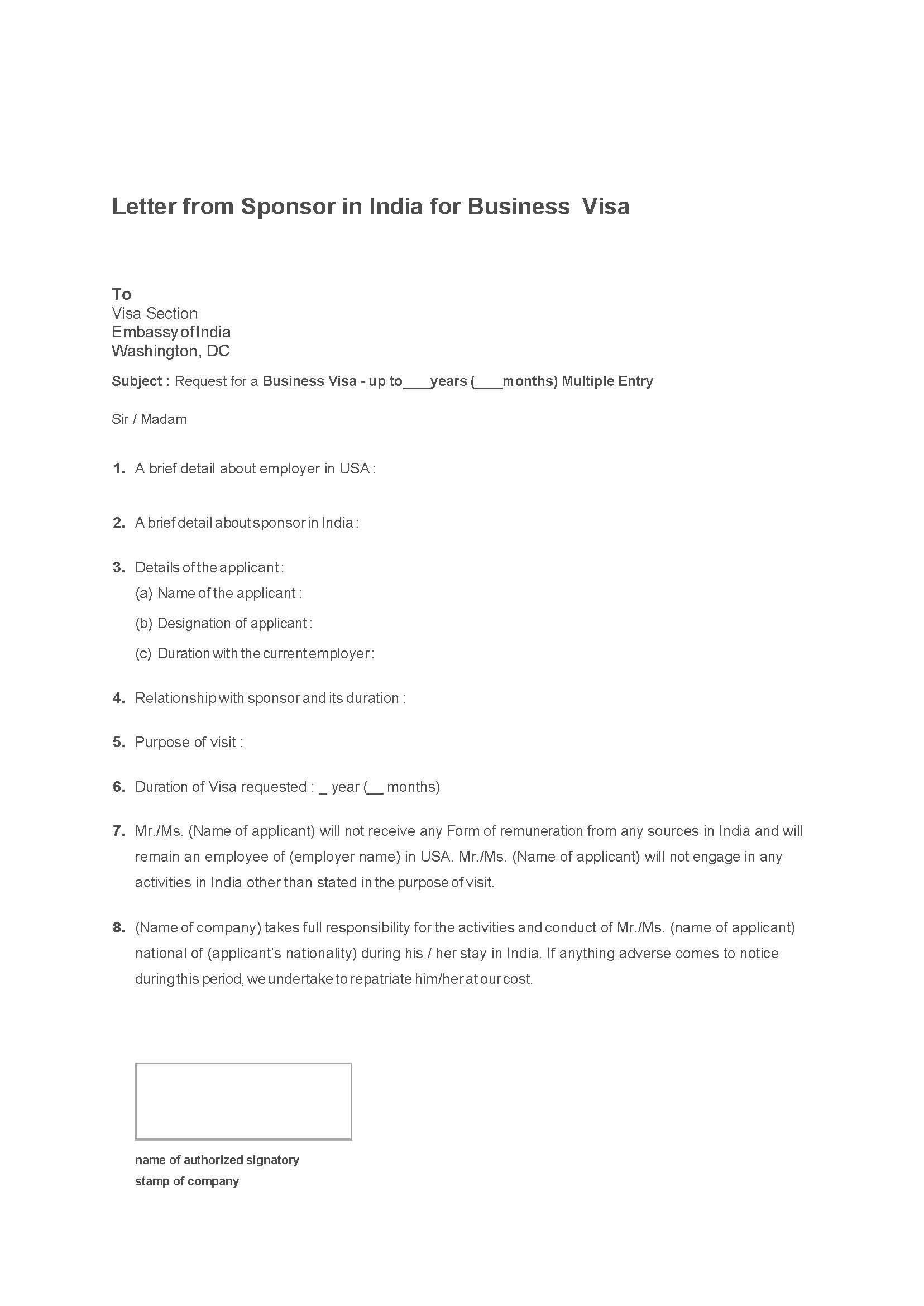 Sample Letter Of Invitation For Us Visa from www.apvi.com